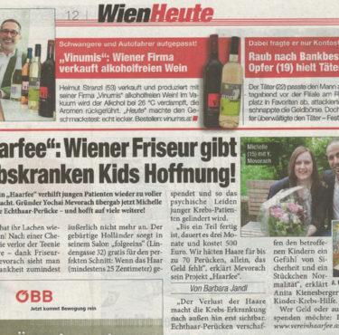 Wiener Friseur gibt Kids Hoffnung