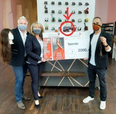 Ballnacht der Friseure – 2.000€ Spende für die Haarfee